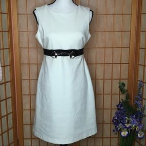 Donna Morgan Cream Dress